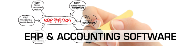 ERP and Accounting Software Header Image